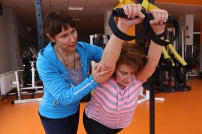 Kálmán Krisztina - Személyi edzés közben 1
