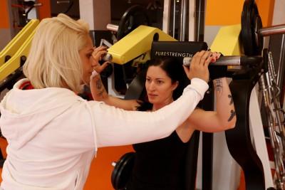 Kövér Georgina - Személyi edzés közben 3