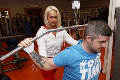 Kövér Georgina - Személyi edzés közben 2